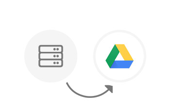 Backing up the NAS data to Google Drive cloud drive