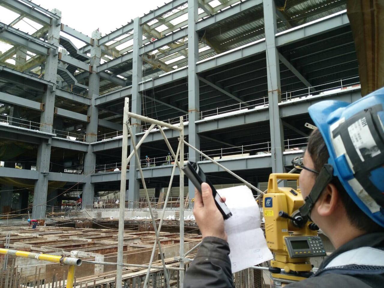 AWEC's building site