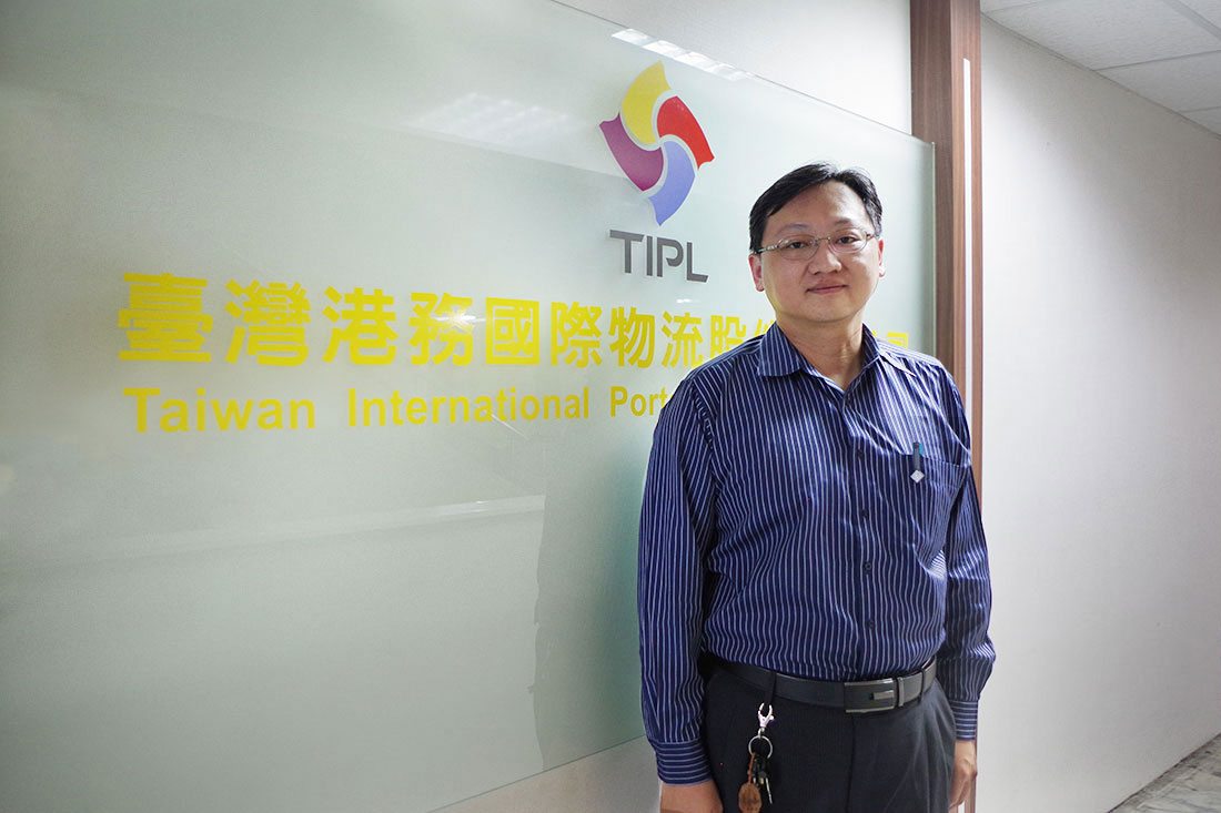 Mr. Wang, Taiwan International Ports Logistics Corporation