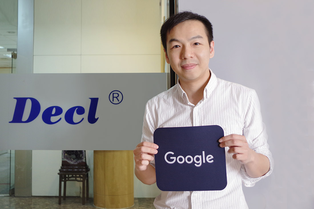 Mr. Chiang, person in charge of the global market at Decl